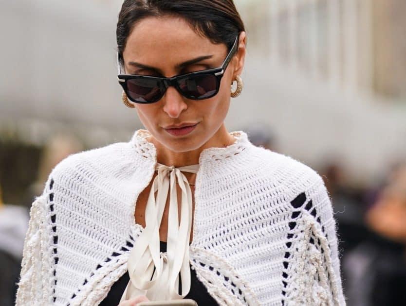 Uwielbiane przez fashionistki szydełkowe ubrania i dodatki opanowały Instagram