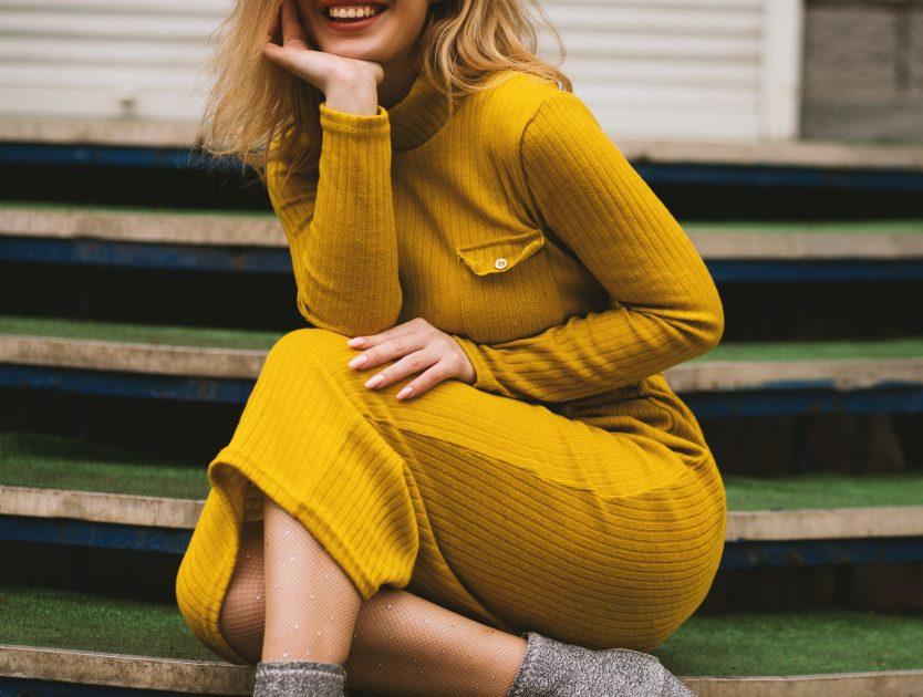 Jakie sukienki ubierać jesienią?